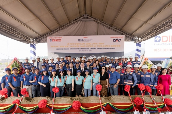 VIDEO – GROUND-BREAKING CEREMORY OF DANANG SUNSHINE AEROSPACE COMPONENTS MANUFACTURES